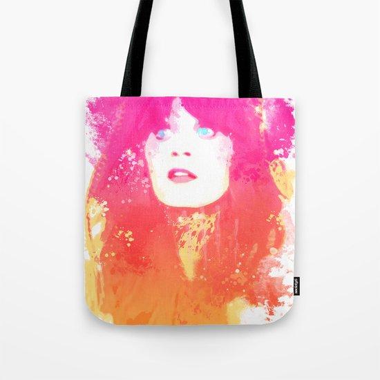 Zooey Deschanel Tote Bag