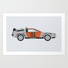 Back to the Body Shop Art Print