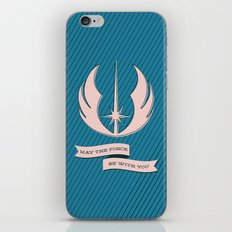 Jedi Blueprints iPhone & iPod Skin