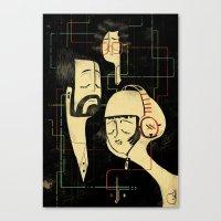 乐 Music V.2 Canvas Print