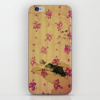 through forest boy mounted on your bird iPhone & iPod Skin