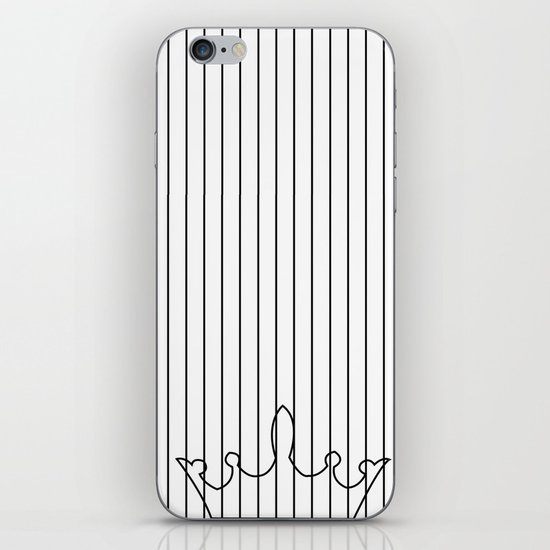 crown and stripes iPhone & iPod Skin
