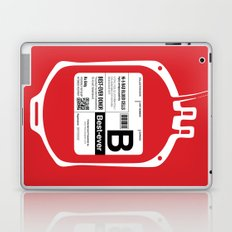 My Blood Type is B, for Best-ever! Laptop & iPad Skin