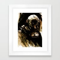 Just Waitin' For The Vultures To Come Framed Art Print