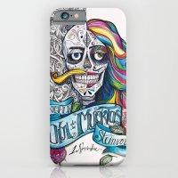 iPhone & iPod Case featuring Día de Muertos ANALOG zine by PepperBird
