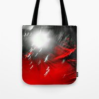 Red Flash With A Little … Tote Bag