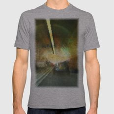 Dartford Tunnel 3 Mens Fitted Tee Athletic Grey SMALL