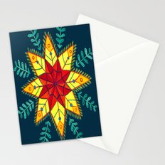 Folk Star Stationery Cards
