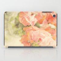 Peach bunch iPad Case