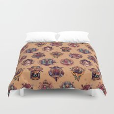 All Those Bright and Shining Companions Duvet Cover