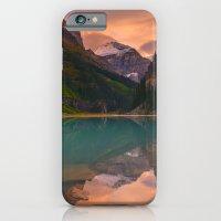 Autumn in Lake Louise iPhone 6 Slim Case