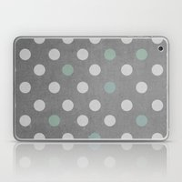 Concrete & PolkaDots Laptop & iPad Skin