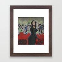 Mona Lisa Framed Art Print