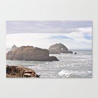 Heart rock Canvas Print