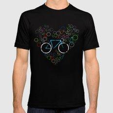 I Love My Bike Mens Fitted Tee Black SMALL