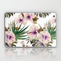 Watercolor Tropical Hibiscus 1 Laptop & iPad Skin
