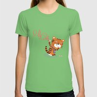 Oops!! Womens Fitted Tee Grass SMALL