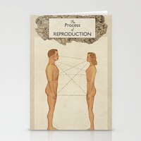 The Process of Reproduction I Stationery Cards
