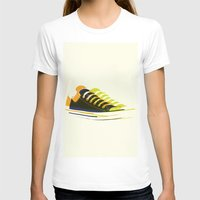 shoes T-shirts featuring shoes by Lyndi888