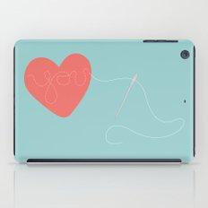 Stitched Heart iPad Case