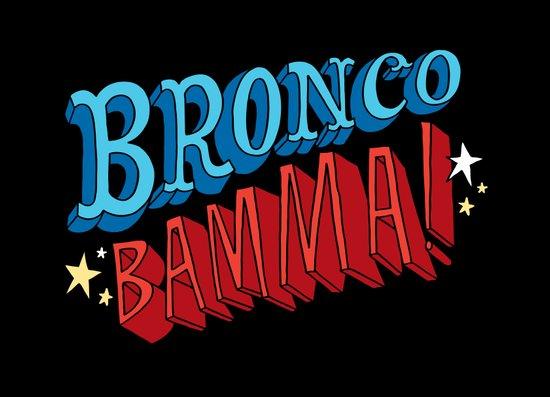 Bronco Bamma! Canvas Print