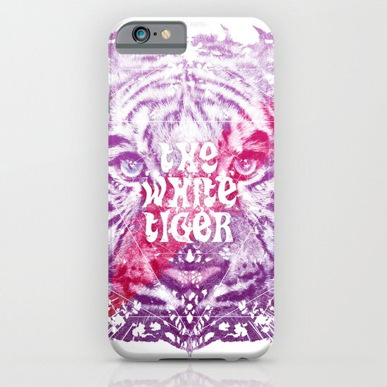 The White Tiger (Savage Version) iPhone & iPod Case