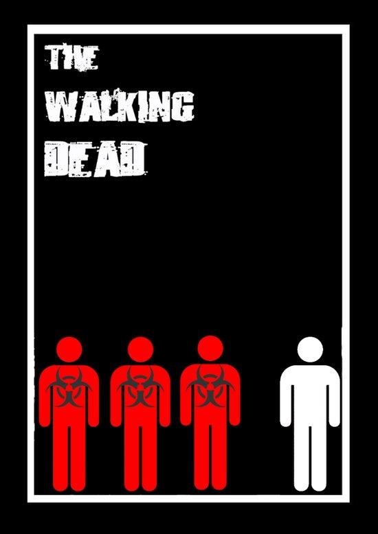 The Walking Dead Minimalist Art Print
