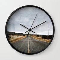 Hit the Road Wall Clock