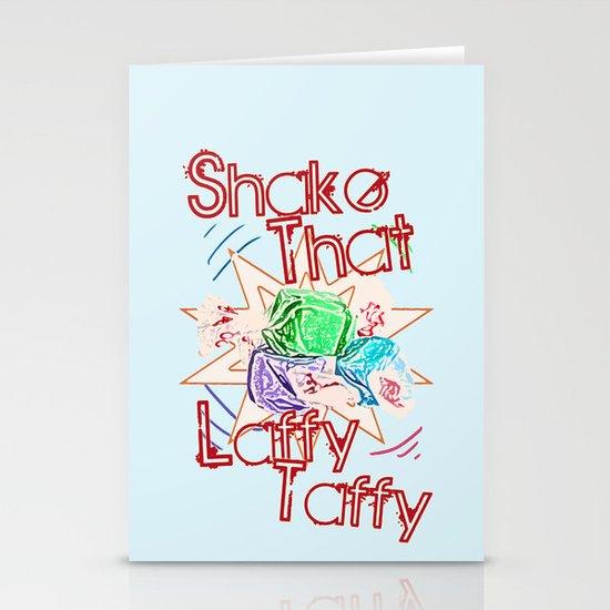 Shake That Laffy Taffy Stationery Card