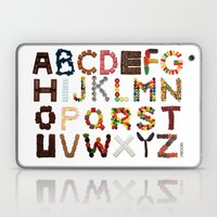 Candy Alphabet Laptop & iPad Skin