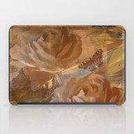 Textured Flowers, Leaves… iPad Case