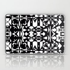 Black and White Square 3  Laptop & iPad Skin
