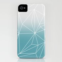 iPhone 4s & iPhone 4 Cases featuring Simplicity 2 by Mareike Böhmer Graphics