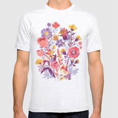 The Garden Crew Mens Fitted Tee Ash Grey SMALL