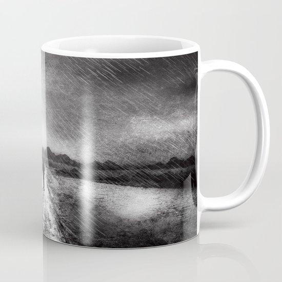 it's raining again (b&w) Mug