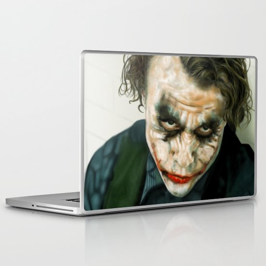 Joker, Heath Ledger Laptop & iPad Skin
