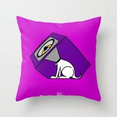Wireless Woofer Throw Pillow
