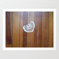 brokenheartsproject no. 1 Art Print