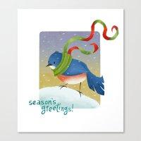 Season's Greetings 2012 Canvas Print