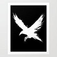 The Raven (Black Version… Art Print
