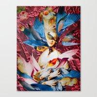 LADY GAINSBOROUGH Canvas Print