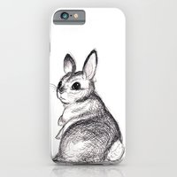 iPhone & iPod Case featuring Ballpoint Bunny by JoJo Seames