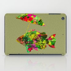 art fish color iPad Case