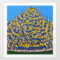 Gol do Brasil Art Print