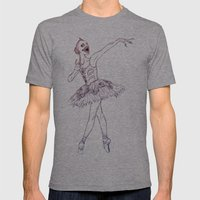 Sugar Plum Fairy Mens Fitted Tee Athletic Grey SMALL
