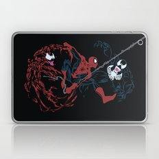 Spider-man - Carnage VS Spidey VS Venom Laptop & iPad Skin