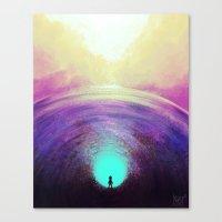 Seeking Solace Canvas Print