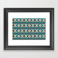 I Heart Patterns #015 Framed Art Print