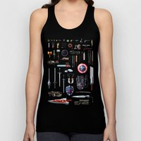 Famous Weapons Unisex Tank Top