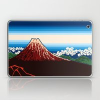 Rainstorm Below the Summit Laptop & iPad Skin